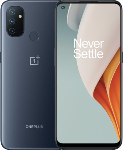 OnePlus Nord N100 grey overview