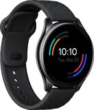 OnePlus Watch Classic black front left side closed