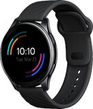 OnePlus Watch Classic black front right side closed