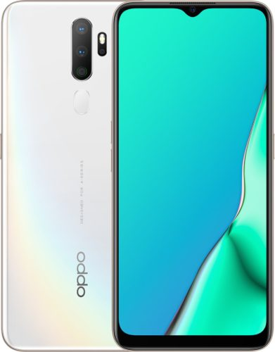 Oppo A5 2020 white overview