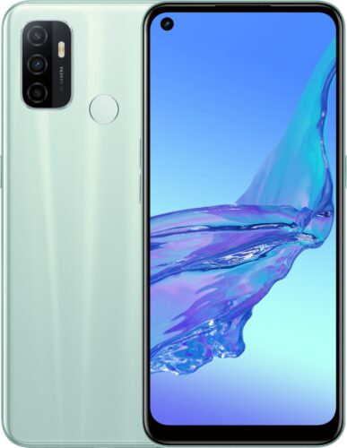 Oppo A53 verde panoramica