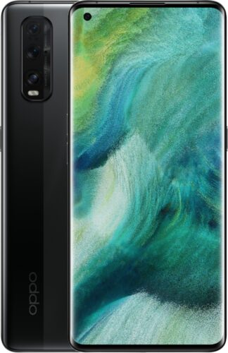 Oppo Find X2 nero panoramica