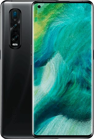 Oppo Find X2 Pro black overview