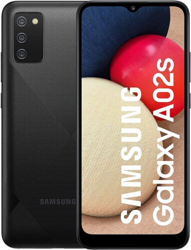 Samsung Galaxy A02s black overview