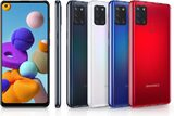 Samsung Galaxy A21s color overview