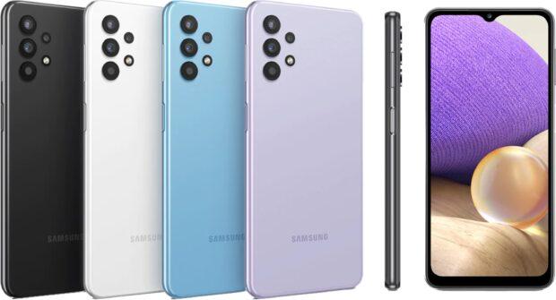 Samsung Galaxy A32 5G color overzicht