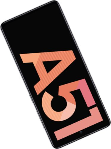 Samsung Galaxy A51 pink résumé