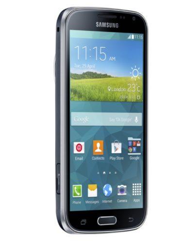 Samsung Galaxy K zoom linkerzijkant schuin