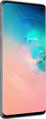 Samsung Galaxy S10 white front left side