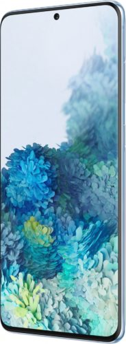 Samsung Galaxy s20 plus 5g blue front right side