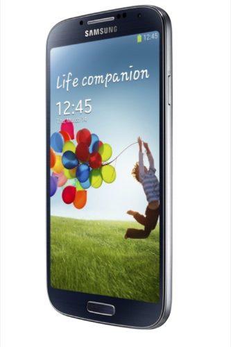Samsung Galaxy S4 schuin 2 zwart