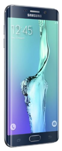 Samsung Galaxy s6 edge plus linkerzijkant zwart sapphire