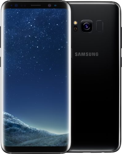 Samsung Galaxy S8 black overview