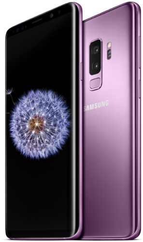 Samsung Galaxy s9 plus purple overview