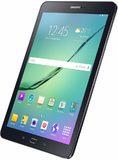 Samsung Galaxy Tab s2 97 zwart voorkant schuin