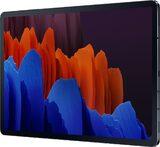 Samsung Galaxy tab s7 plus schwarz Vorderseite rechte Seite