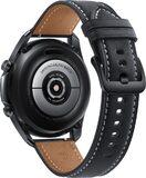 Samsung Galaxy watch 3 45mm zwart achterkant rechterzijkant