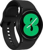 Samsung Galaxy Watch 4 40mm schwarz Vorderseite linke Seite