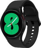 Samsung Galaxy Watch 4 40mm schwarz Vorderseite rechte Seite