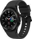 Samsung Galaxy Watch 4 Classic 42mm zwart voorkant rechterzijkant