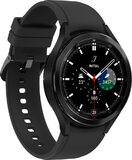 Samsung Galaxy Watch 4 Classic 46mm black front left side