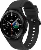 Samsung Galaxy Watch 4 Classic 46mm black front right side