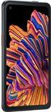 Samsung Galaxy XCover Pro schwarz Vorderseite linke Seite