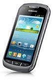 Samsung Galaxy xcover2 schuin