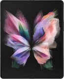Samsung Galaxy Z Fold 3 schwarz innerhalb geöffnet