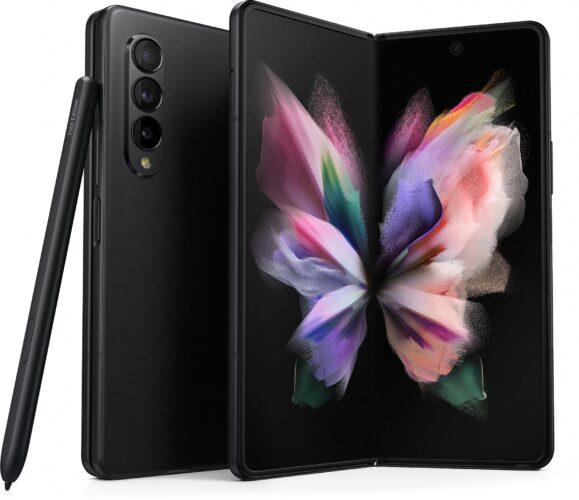 Samsung Galaxy Z Fold 3 schwarz Übersicht