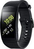 Samsung Gear Fit2 Pro zwart voorkant rechterzijkant