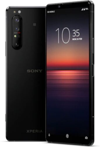 Sony Xperia 1 II black overview
