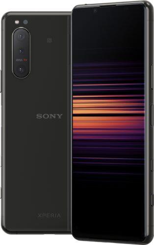 Sony Xperia 5 II zwart overzicht