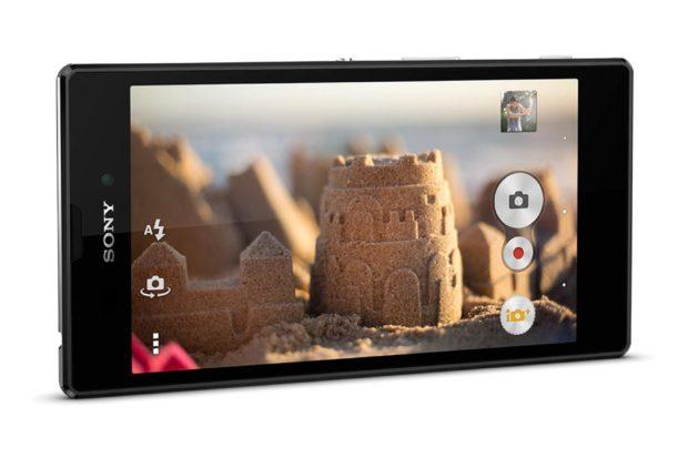 Sony Xperia T3 gedraaid
