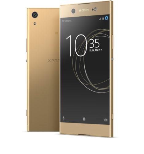 Sony Xperia XA1 Ultra goud groep