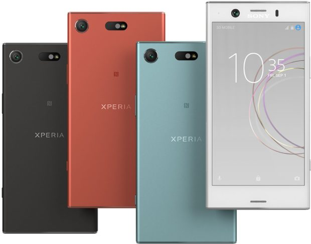 Sony Xperia XZ1 Compact kleuren overzicht