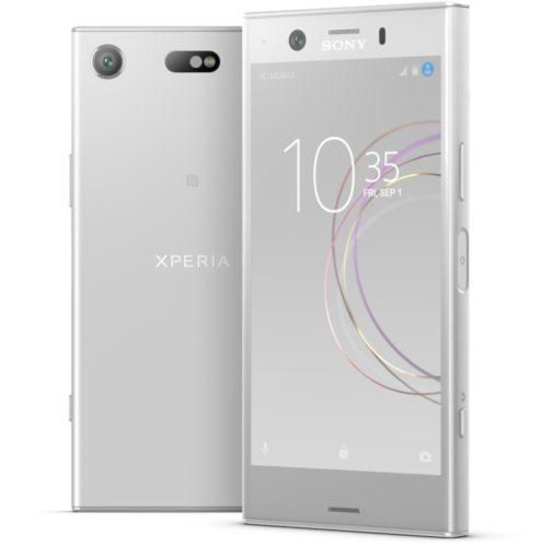 Sony Xperia XZ1 Compact wit zilver overzicht