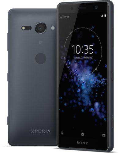 Sony Xperia XZ2 Compact zwart overzicht