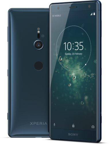 Sony Xperia XZ2 green overview
