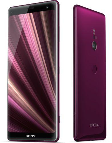 Sony Xperia XZ3 rosso panoramica 2
