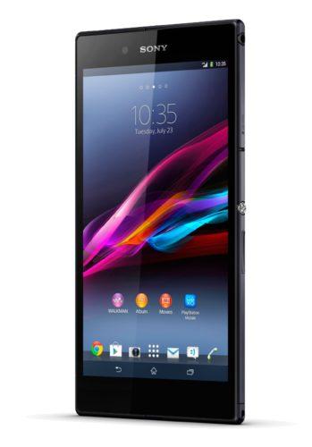 Sony Xperia Z Ultra zwart voorkant