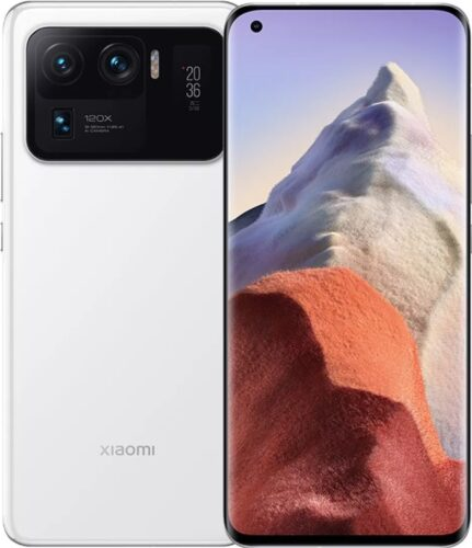 Xiao Mi Mi 11 Ultra bianco panoramica