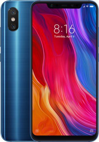 Xiao Mi Mi 8 overzicht blauw