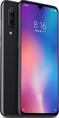 Xiao Mi Mi 9 black overview