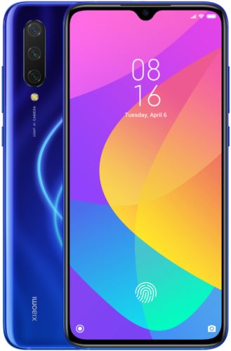 Xiao Mi Mi 9 Lite blue overview