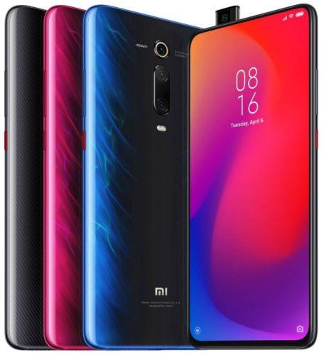 Xiao Mi Mi 9T Pro colors overview