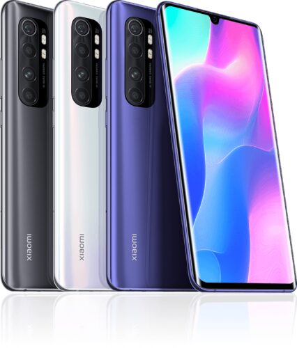 Xiao Mi Mi Note 10 Lite color overview