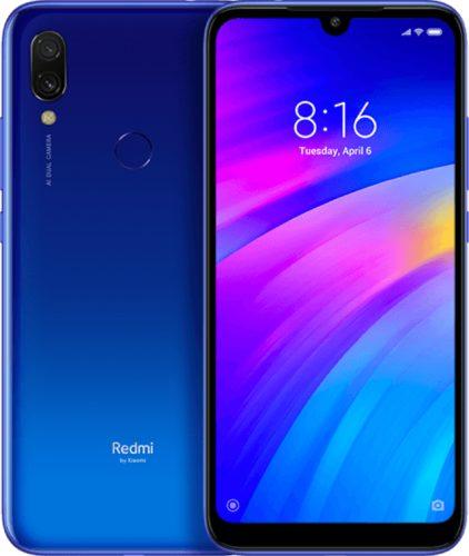 Xiaomi Redmi 7 blauw overzicht