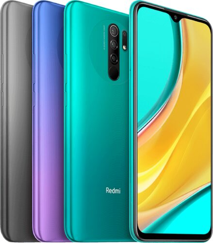 Xiaomi Redmi 9 color visión general