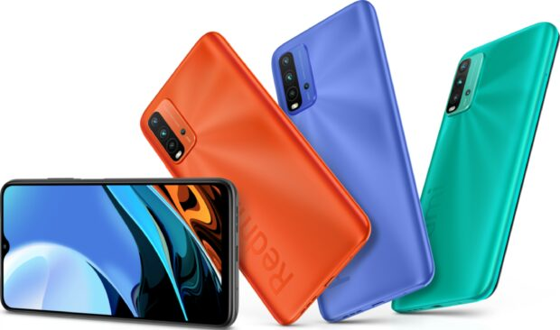 Xiaomi Redmi 9T kleuren overzicht
